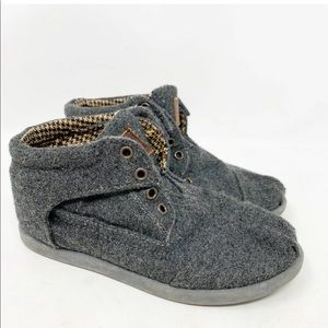 3/$30 Toms kids high top shoes